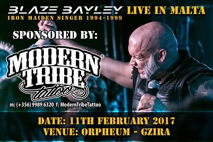 Blaze Bayley live in Malta 2017