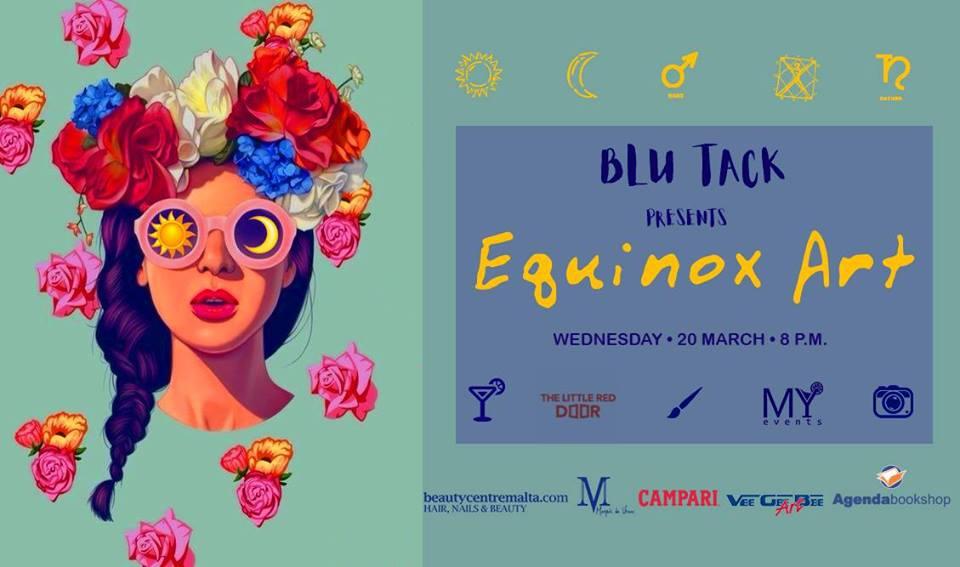 Blu Tack: Equinox Art