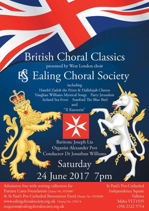 BRITISH CHORAL CLASSICS