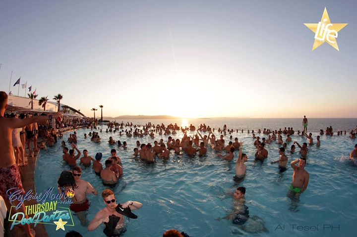 Cafe Del Mar Pool Party Big Opening