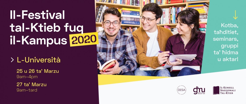 Campus Book Festival 2020