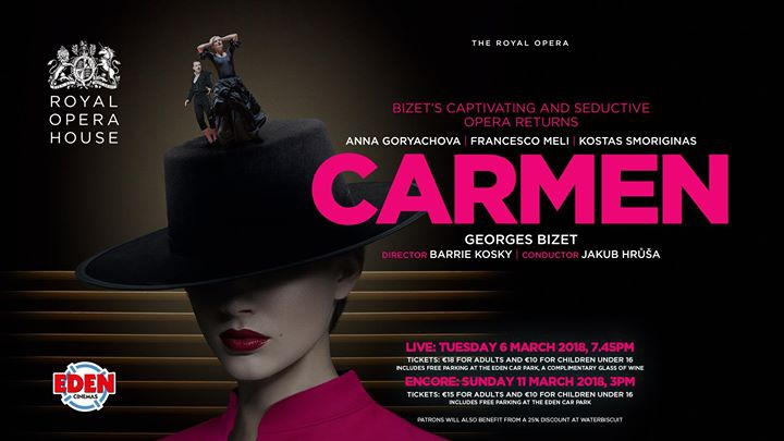 Carmen-Live at Eden Cinemas