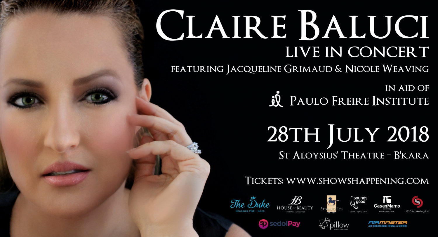 Claire Baluci Live in Concert