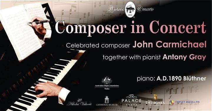Composer in Concert - John Carmichael