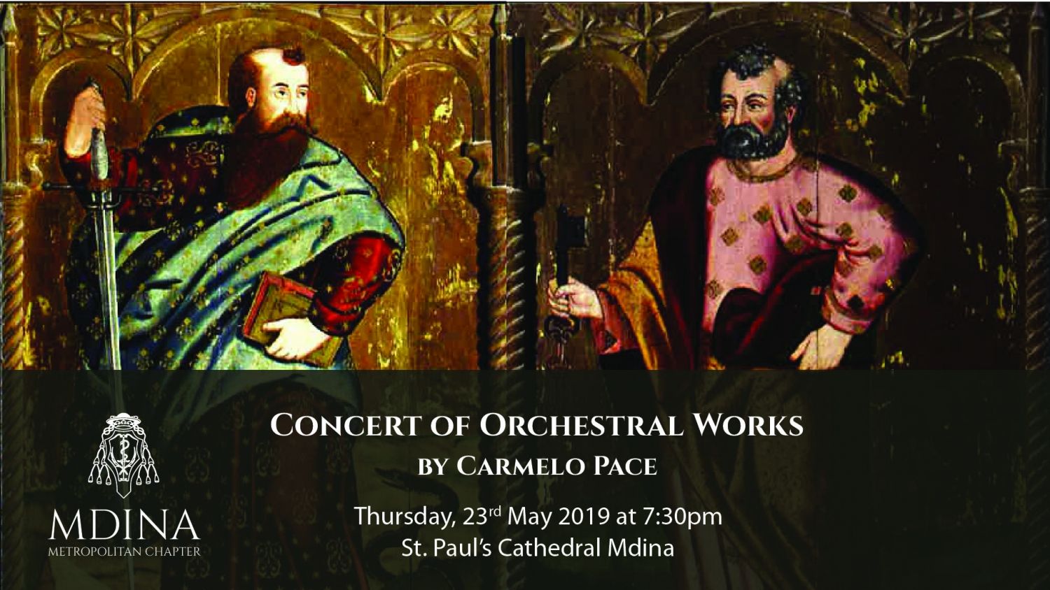 Concert of Orchestral Works by Carmelo Pace