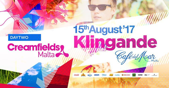 Creamfields presents DAY 2 - Klingande - 15.08.17