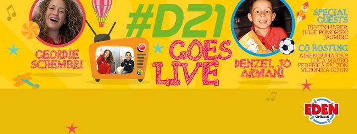 D21: L-Isport Jghaqqad LIVE at Eden Cinemas