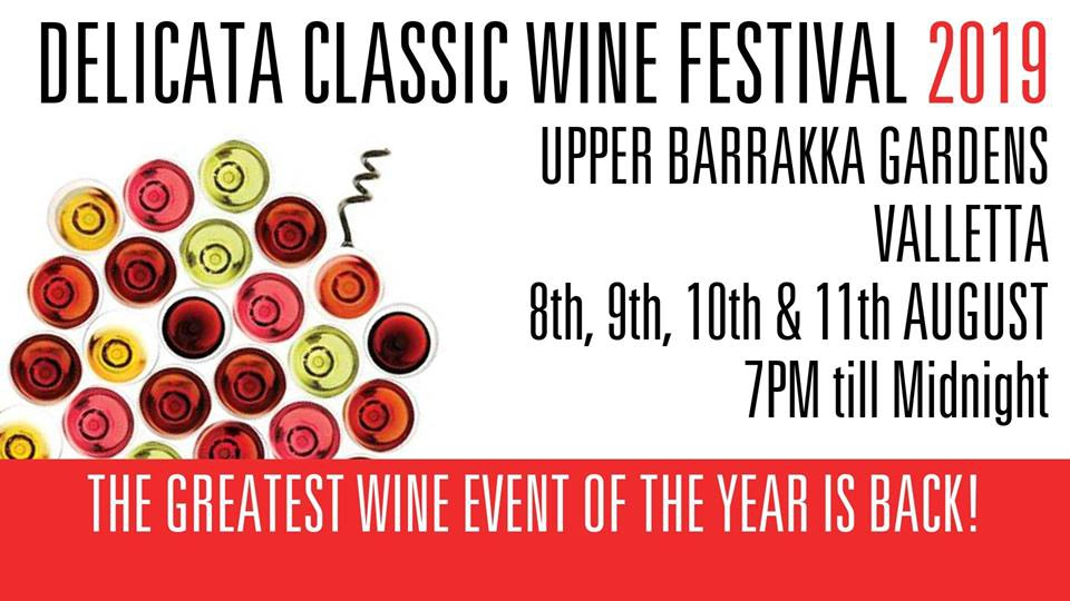Delicata Classic Wine Festival 2019 - Valletta