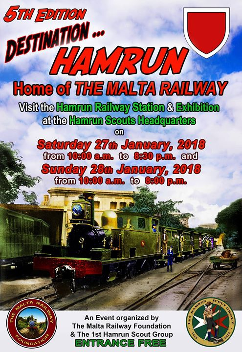 Destination Hamrun - The Malta Railway Exhibition