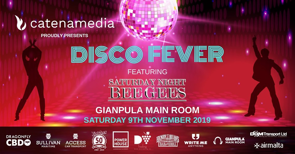 Disco Fever – Saturday Night Bee Gees