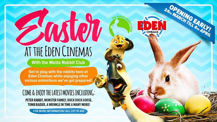 Easter at Eden Cinemas