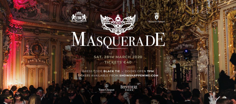 EBM Masquerade 2020 - Palazzo Parisio