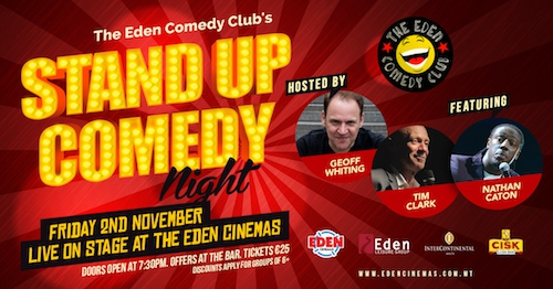 Eden Comedy Club's 19th Stand Up Comedy Night!
