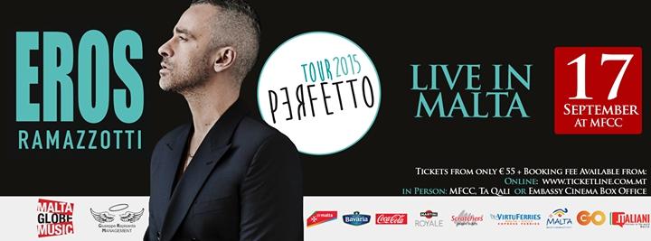 Eros Ramazzotti - Live In Malta