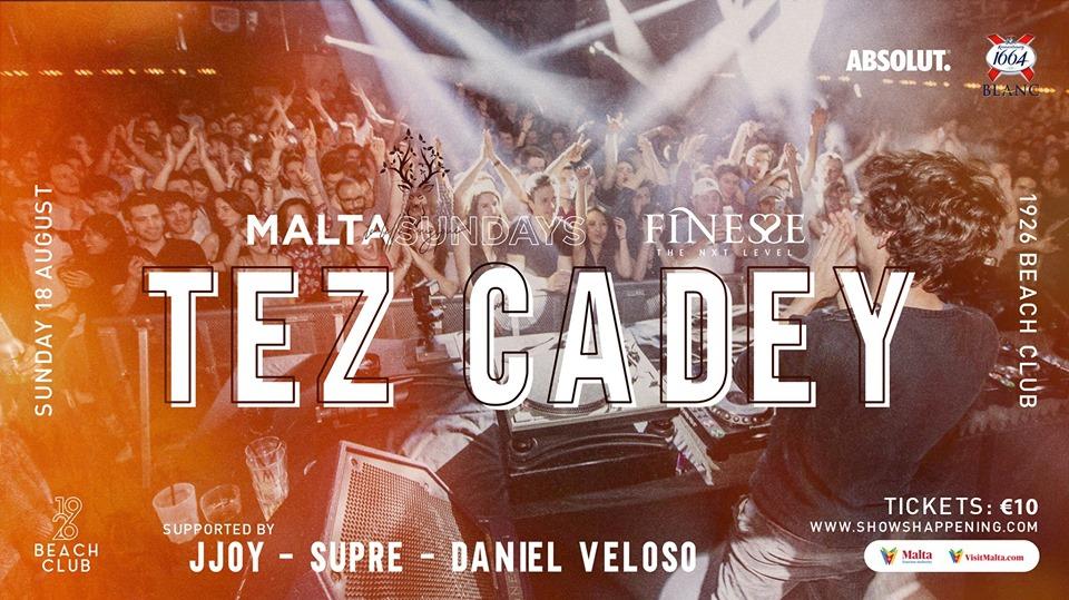 Finesse x La Belle Musique Sundays present TEZ CADEY