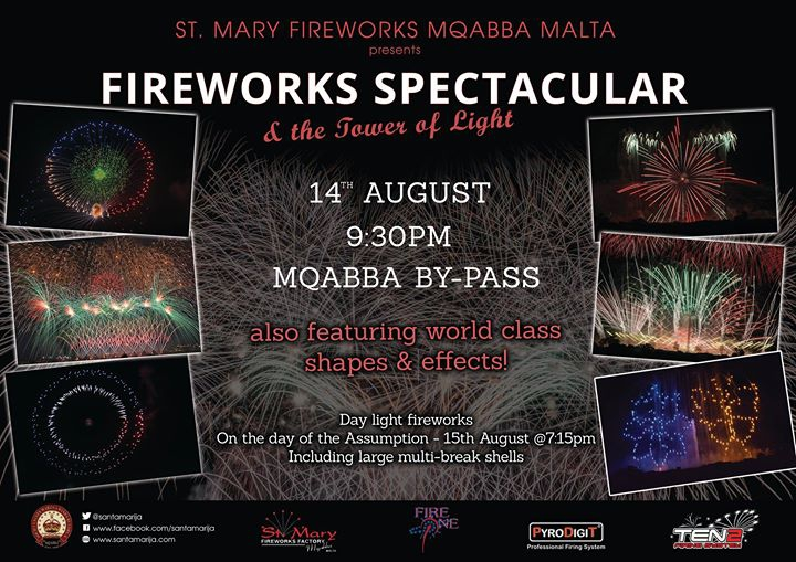 Fireworks Spectacular - St.Mary Mqabba