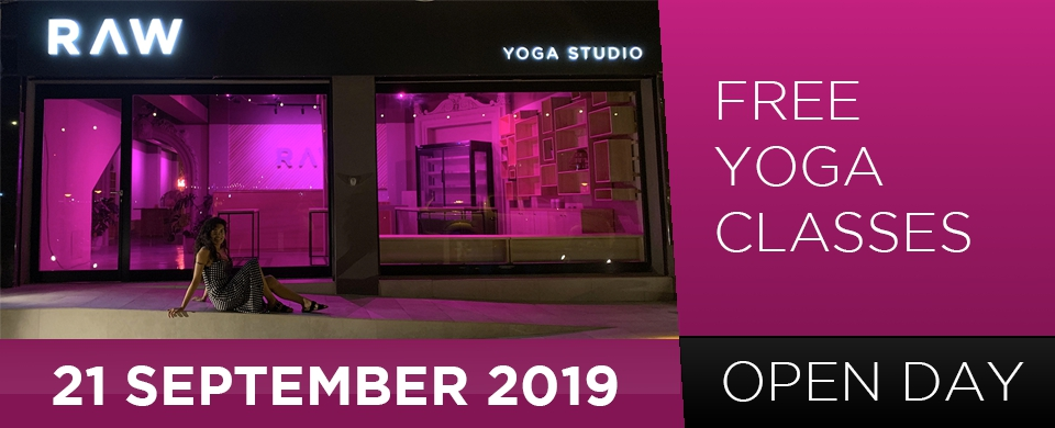 Free Yoga Day - RAW Yoga Studio Pieta