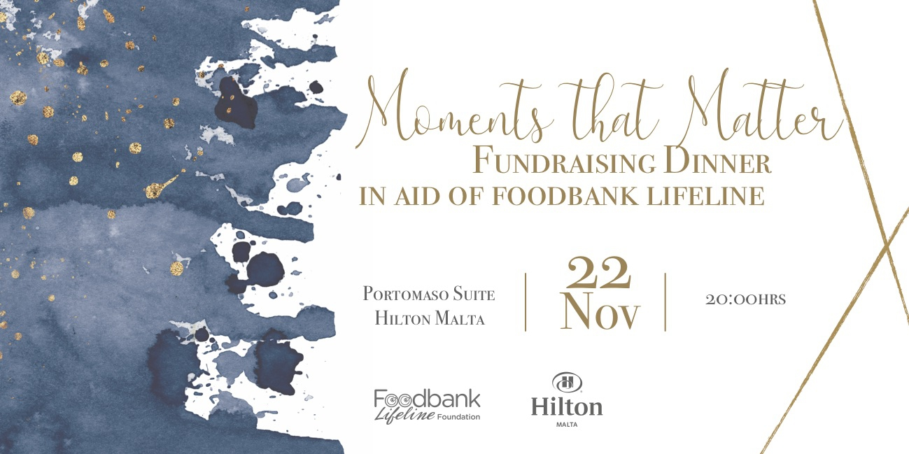 Fundraising Dinner in Aid of Foodbank Lifeline Foundation