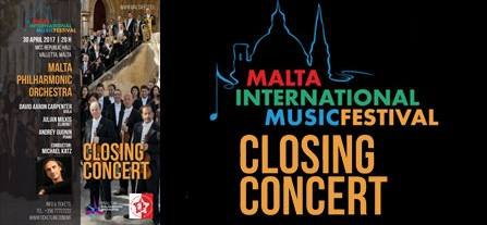 Gala Concert of the Malta International Music Festival 2017