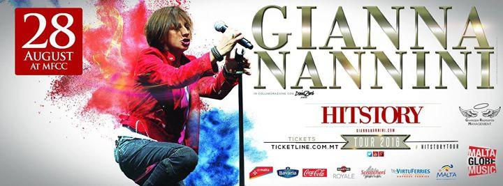 Gianna Nannini: LIVE IN MALTA!