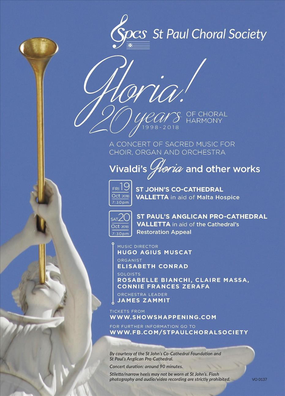 GLORIA! 20 years of Choral Harmony