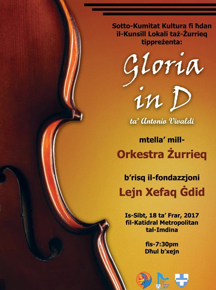 Gloria in D - Antonio Vivaldi - Mdina Cathedral