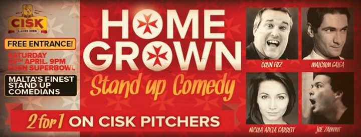 Home Grown Stand-Up Comedy Night