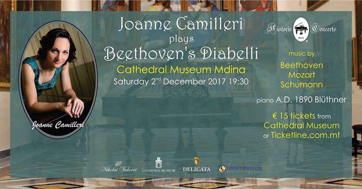 Joanne Camilleri plays Beethoven's Diabelli
