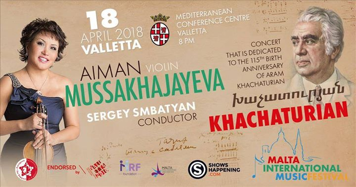 Khachaturian - Malta International Music Festival