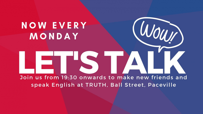 Let's Talk (Mondays)