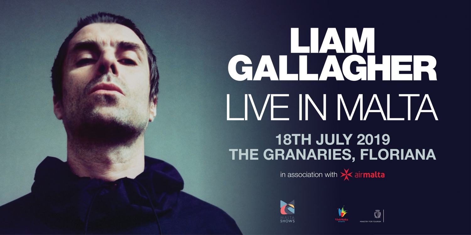 Liam Gallagher Live in Malta