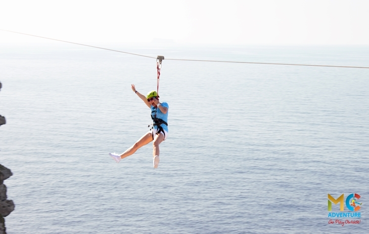 Longest and Fastest Zipline in Malta!
