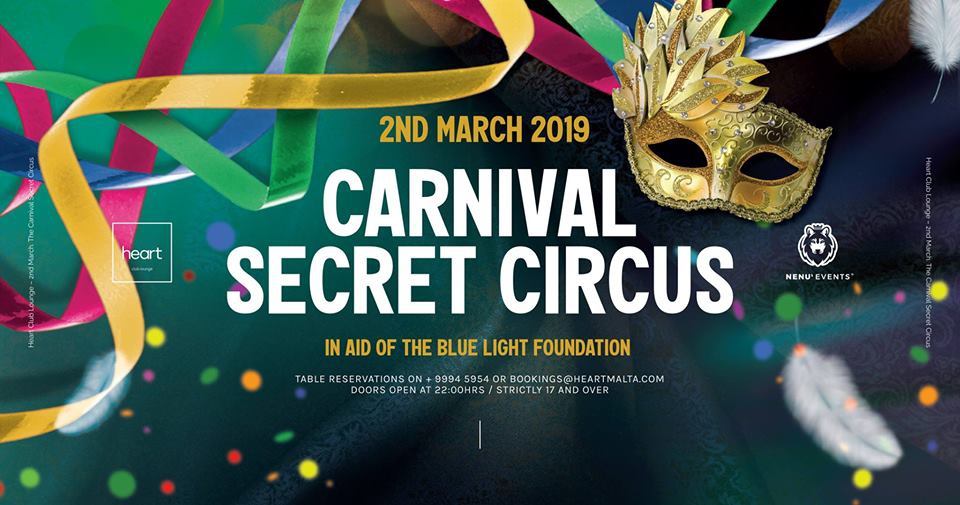 Love My Saturdays - The Carnival Secret Circus.