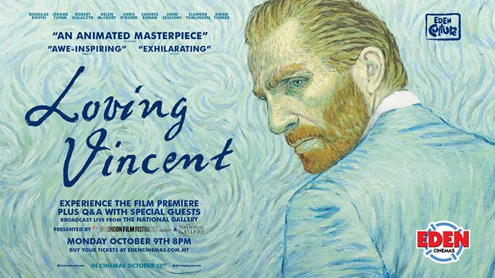 Loving Vincent Live Premiere + Q&A with Special Guests