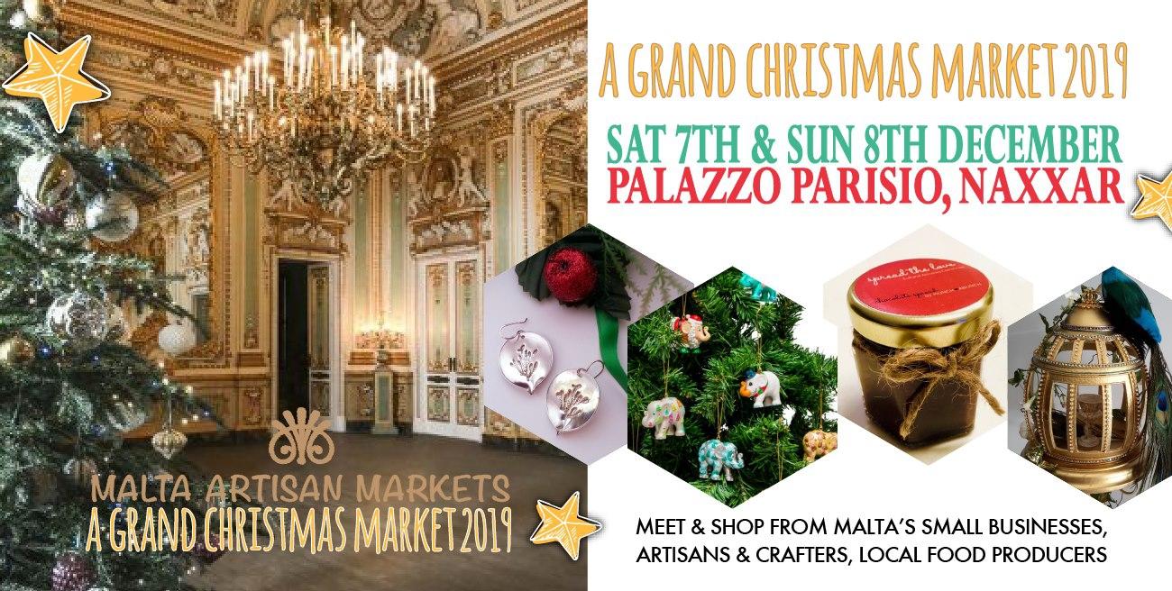 Malta Artisan Markets, Grand Christmas Market at Palazzo Parisio