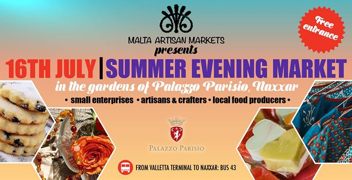Malta Artisan Markets, Summer Evening Market