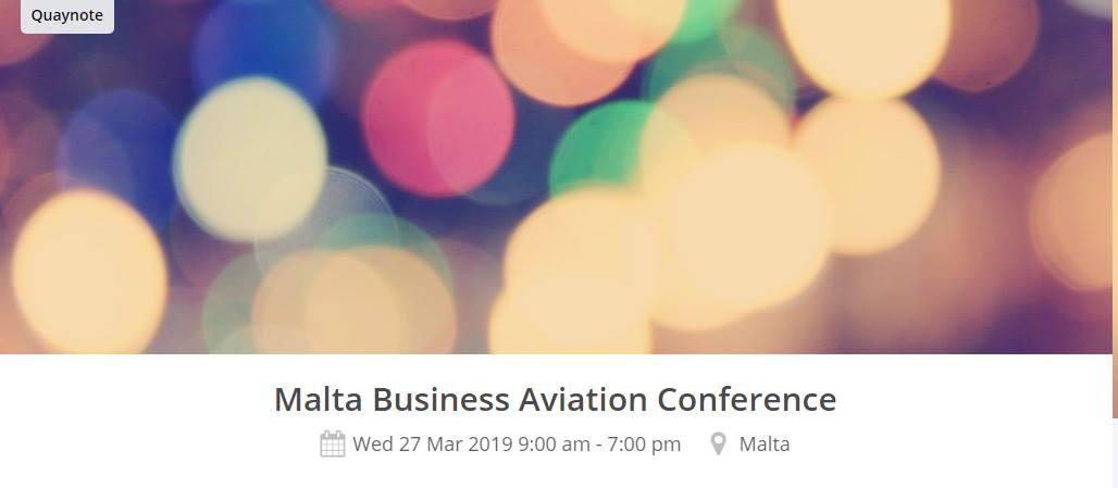 Malta Business Aviation Conference