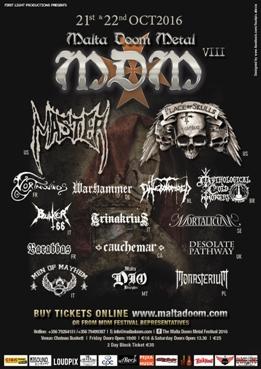 Malta Doom Metal Festival 2016