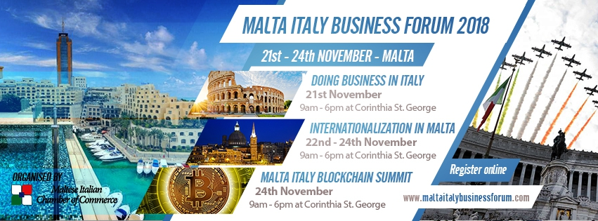Malta Italy Business Forum - Doing Business in Italy