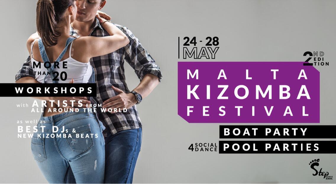 Malta Kizomba Festival 2018 + BOAT PARTY