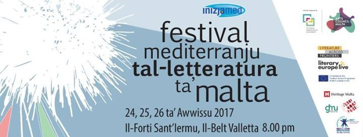 Malta Mediterranean Literature Festival 2017