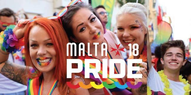 Malta Pride 2018 Parade & Celebrate