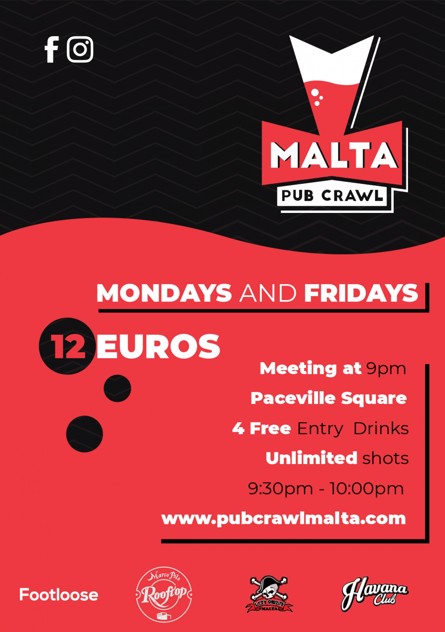 Paceville Pub Crawl