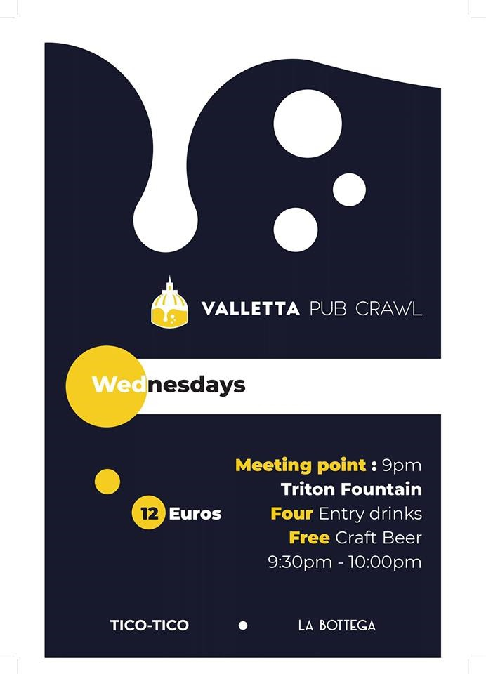 Valletta Pub Crawl