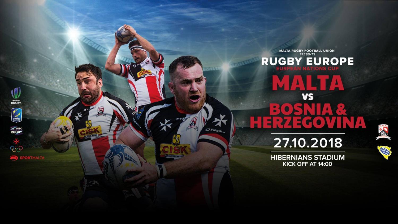 Malta vs Bosnia & Herzegovina: Rugby Europe Championship