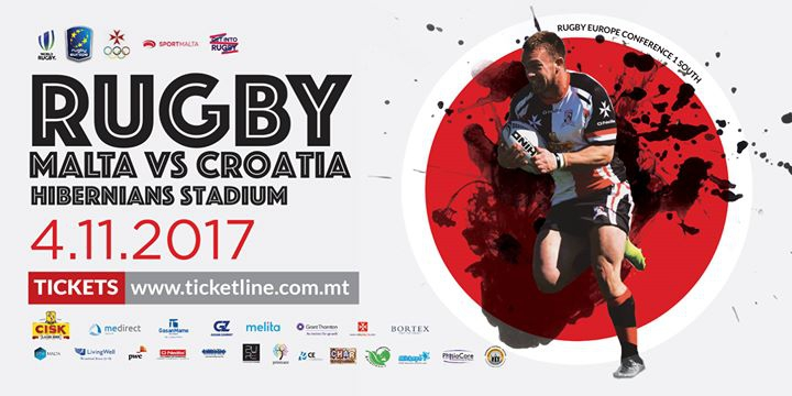 Malta vs Croatia - Rugby Europe Conference 1 South
