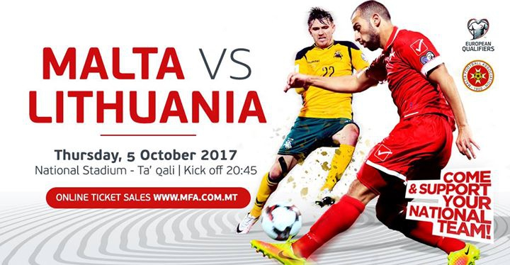 Malta vs Lithuania -2018 FIFA World Cup – European qualifiers