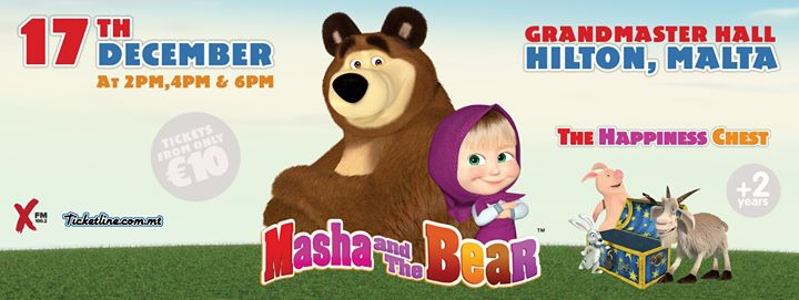 Masha And The Bear Live In Malta