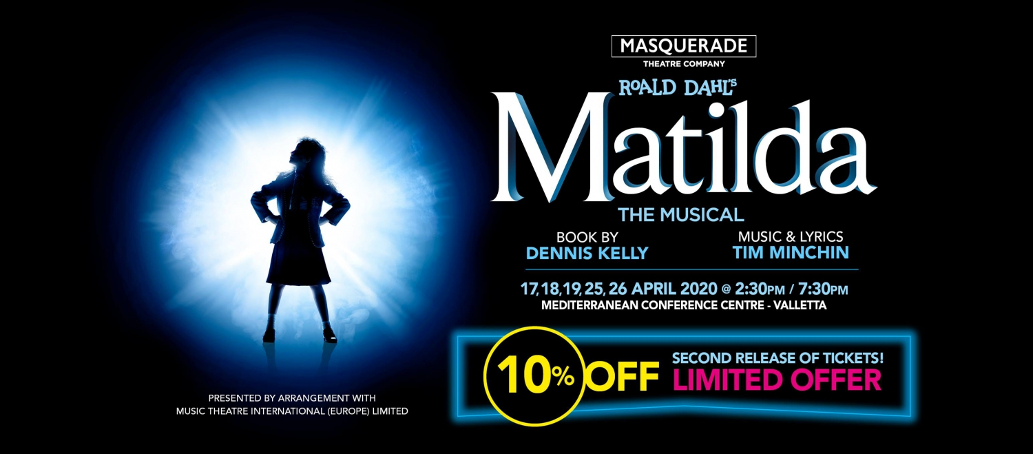 Matilda the Musical in Malta