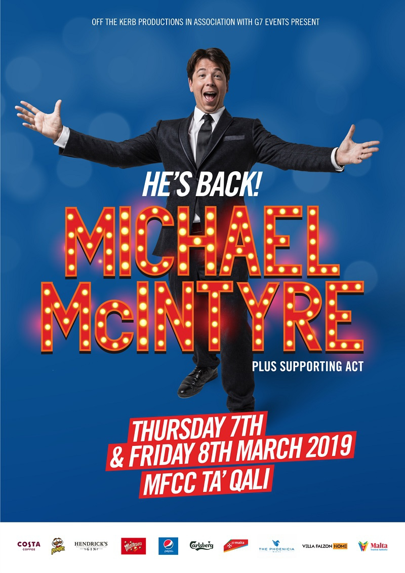 Michael McIntyre - The Big World Tour - Live in Malta - 2019